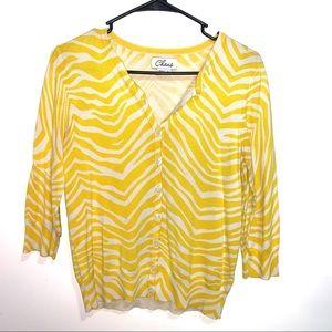 🌷5/$20 Chaus Women's Yellow Top